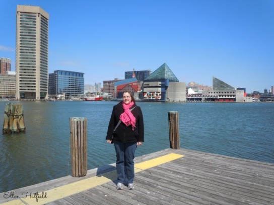 Me at the Inner Harbor in Baltimore, MD. March 2011