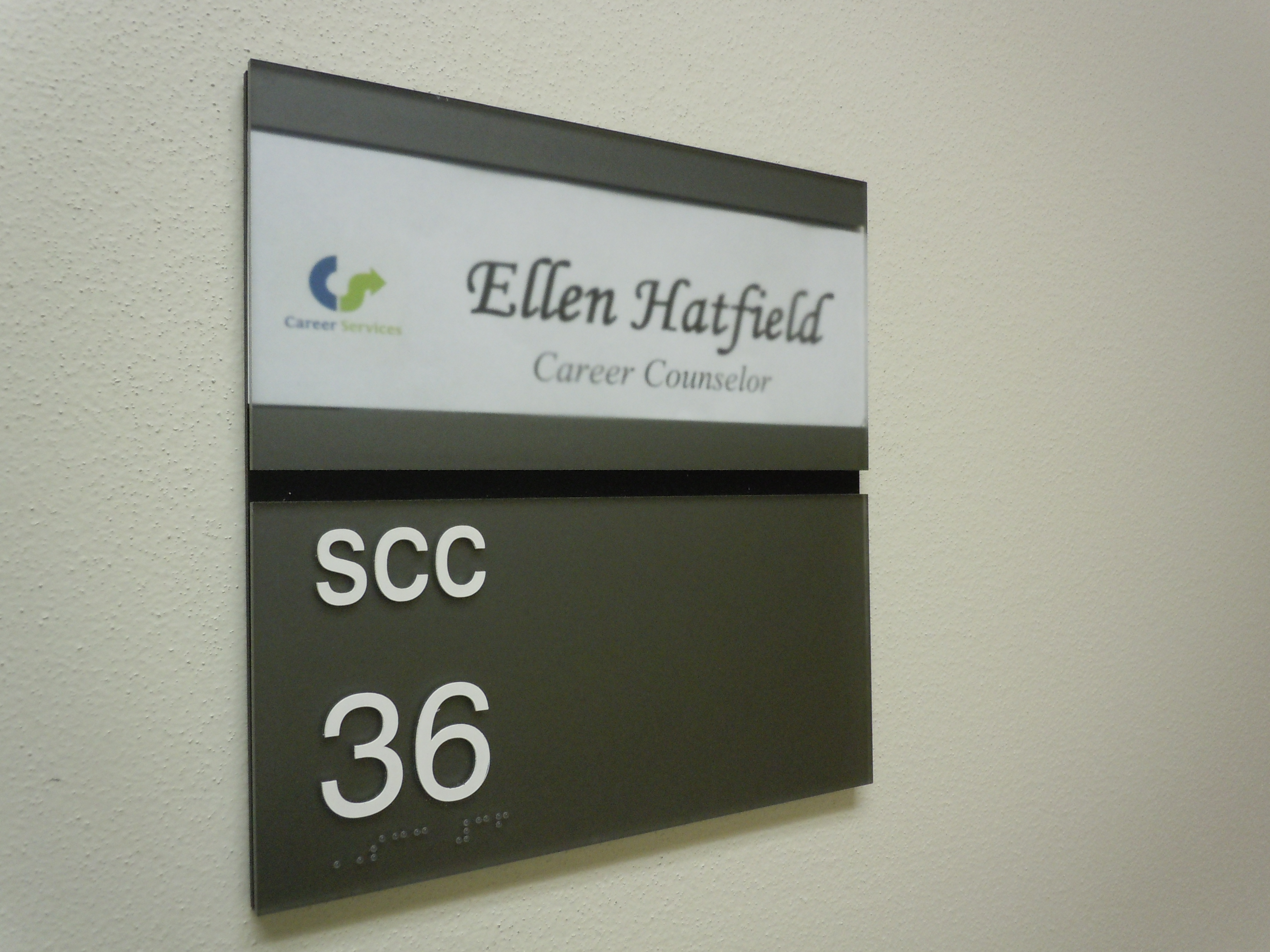 Office Name Plates: Ellen Makes Things
