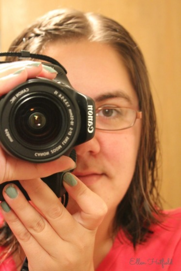 Me with one of my favs (my Canon Rebel)