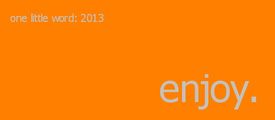 Enjoy orange