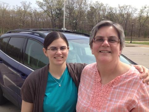 Julie & Mom