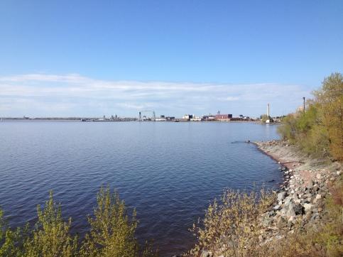 Beautiful morning on Lake Superior