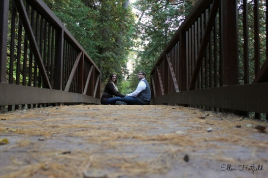 A2 sitting on bridge