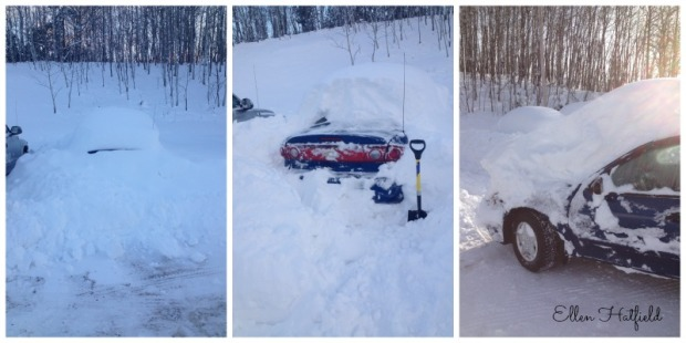 Digging Car out