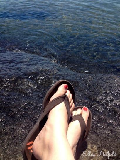 Lake Superior Feet