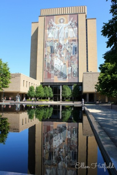 Library at University of Notre Dame