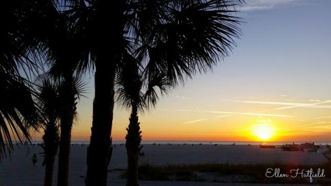Treasure Island FL Sunset
