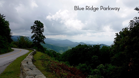 Blue Ridge Parkway, VA - Chimney Rock Mtn Overlook