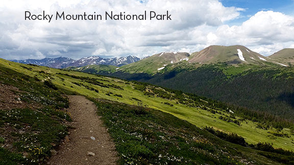Ute Trail, Rocky Mountain National Park