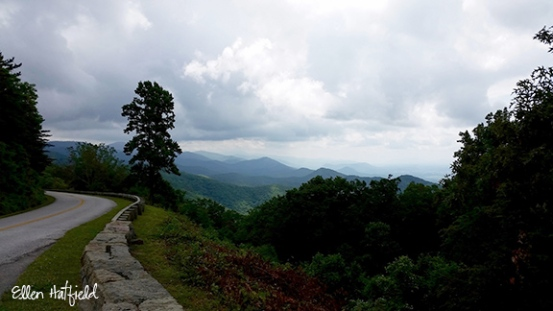 Blue Ridge Parkway, VA - Chimney Rock Mtn Overlook