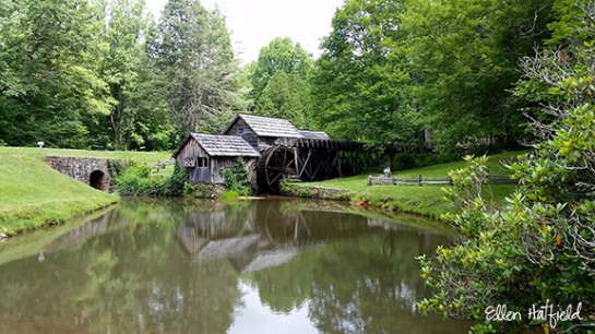 Blue Ridge Parkway, VA - Mabry mill